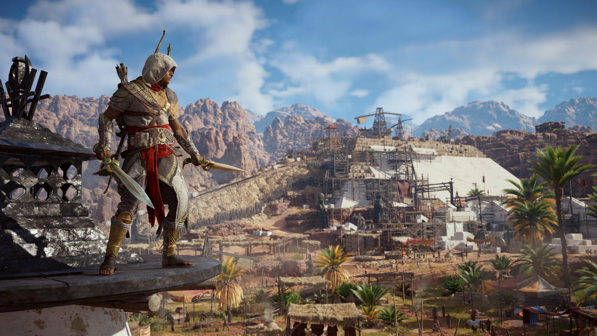 Video Game - Assassin's Creed Origins  Bayek Of Siwa Wallpaper