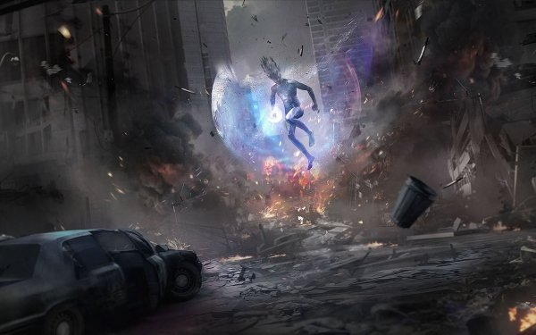 Sci Fi Men Man City HD Wallpaper | Background Image
