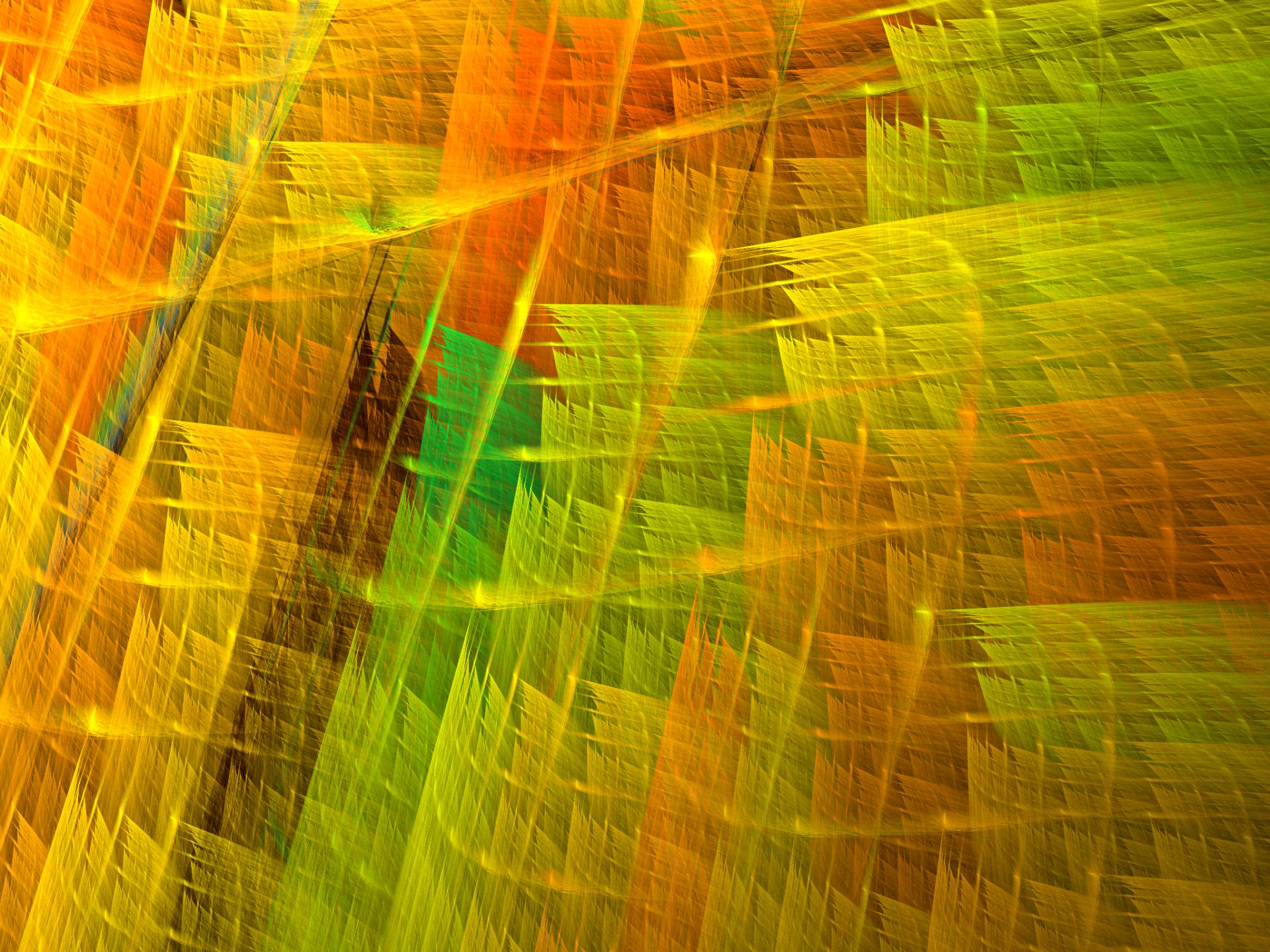 Abstract - Fractal  Abstract Apophysis (software) Orange Green Texture Wallpaper