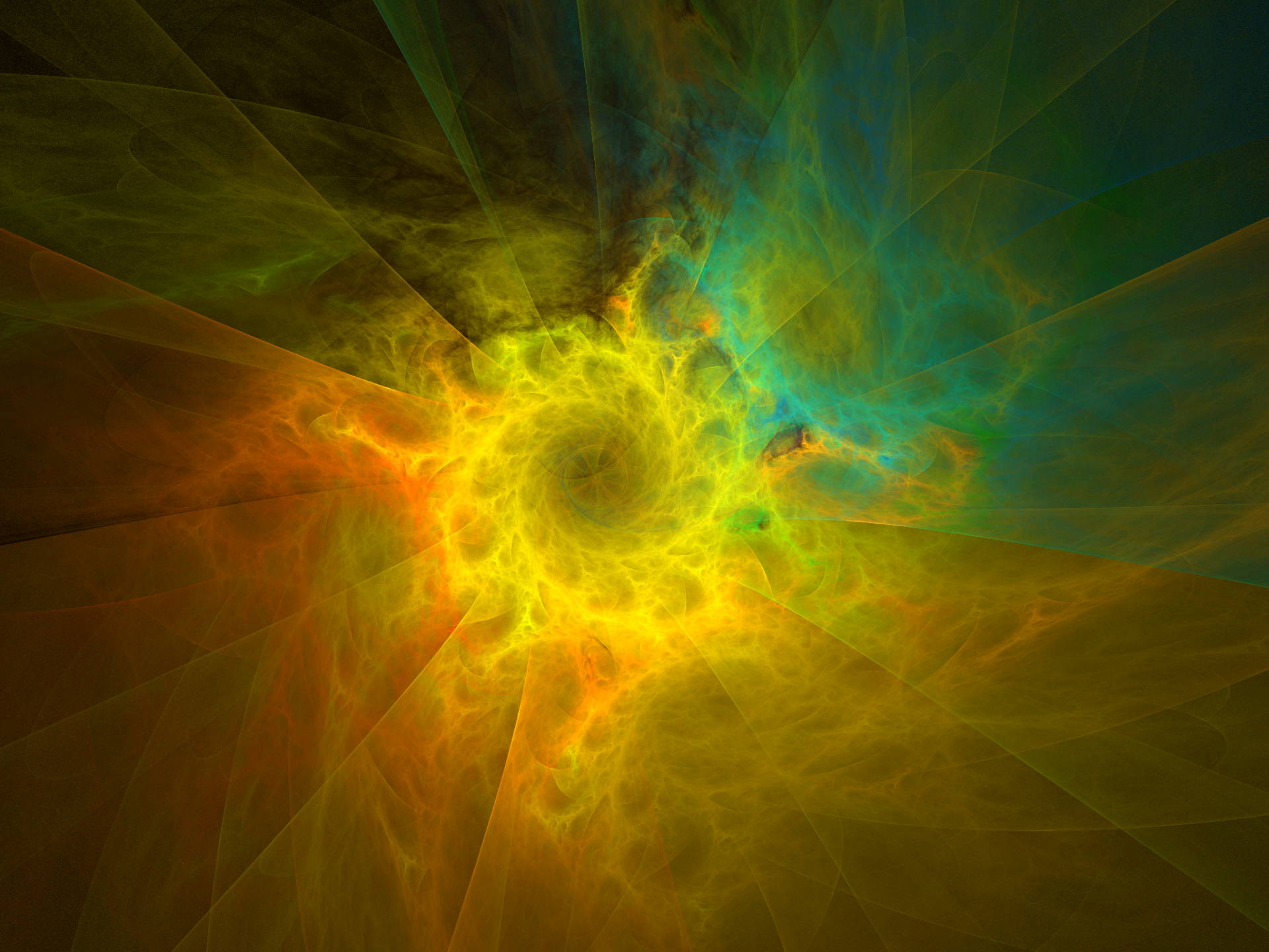 Abstract - Fractal  Apophysis (software) Digital Art Colors Artistic Abstract Wallpaper