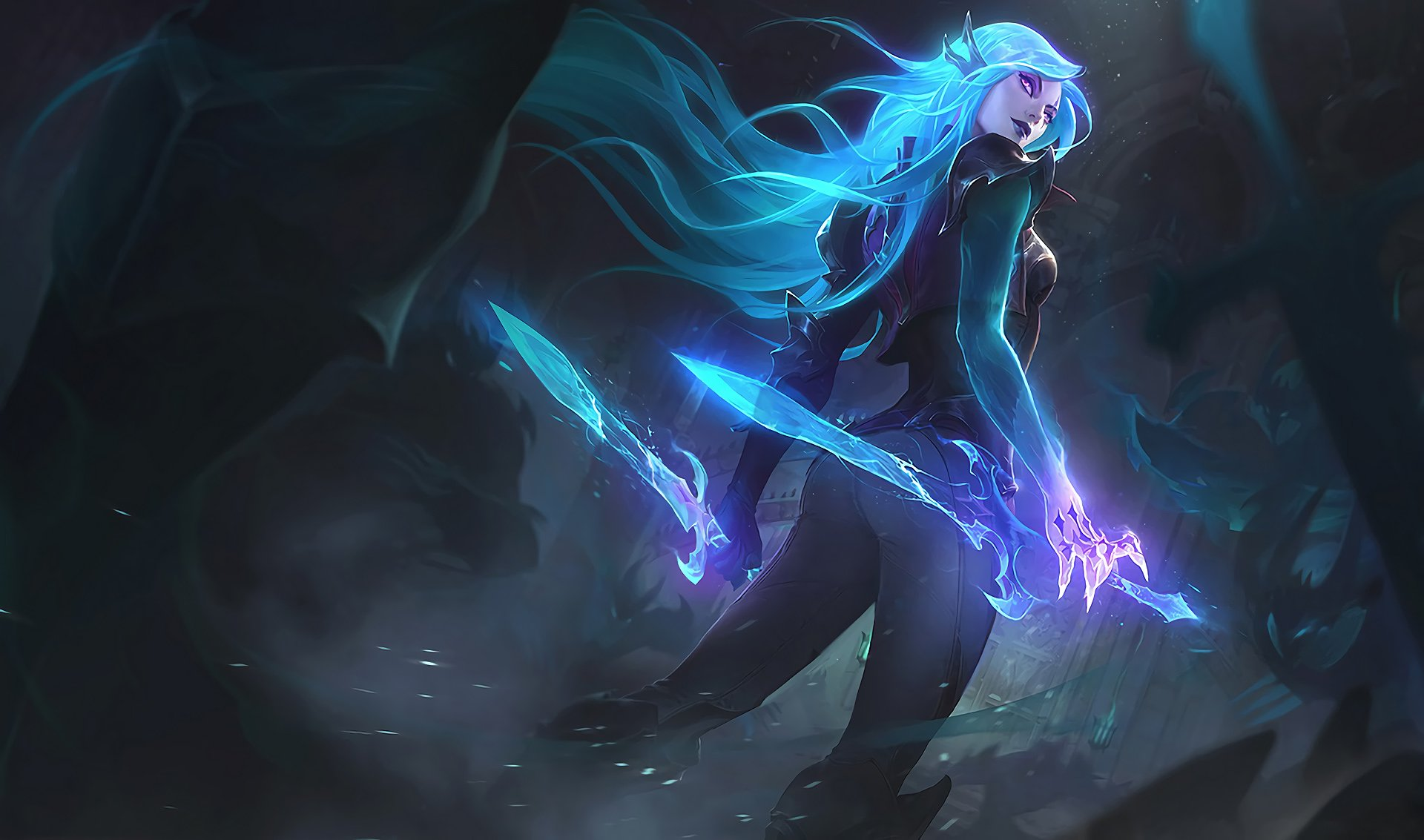 Video Game - League Of Legends  Katarina (League Of Legends) Wallpaper