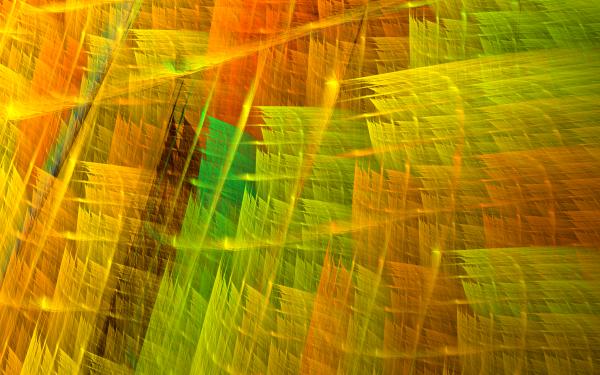 Abstract Fractal Apophysis orange Green Texture HD Wallpaper | Background Image