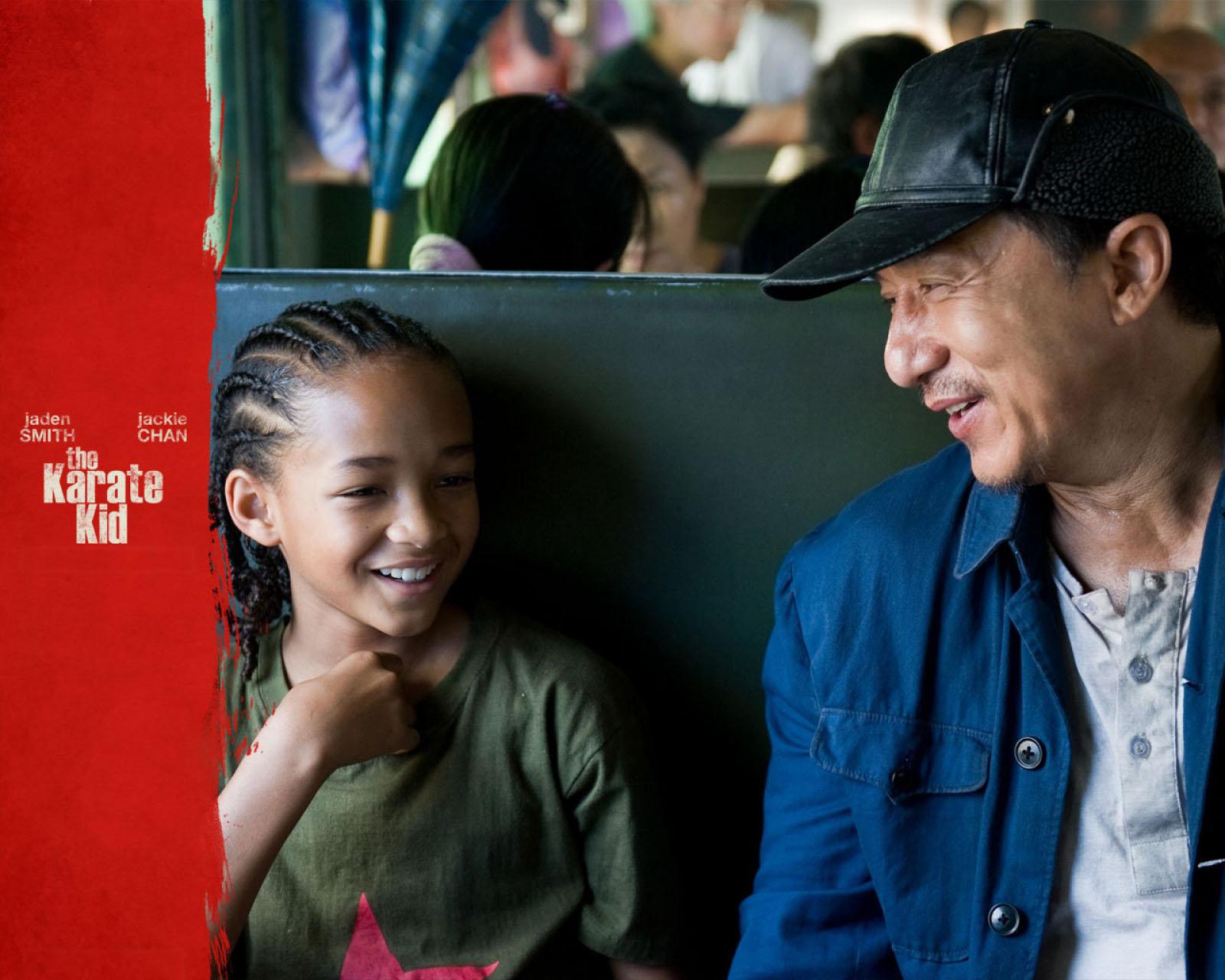 Films - The Karate Kid (2010)  Jackie Chan Jaden Smith The Karate Kid Wallpaper