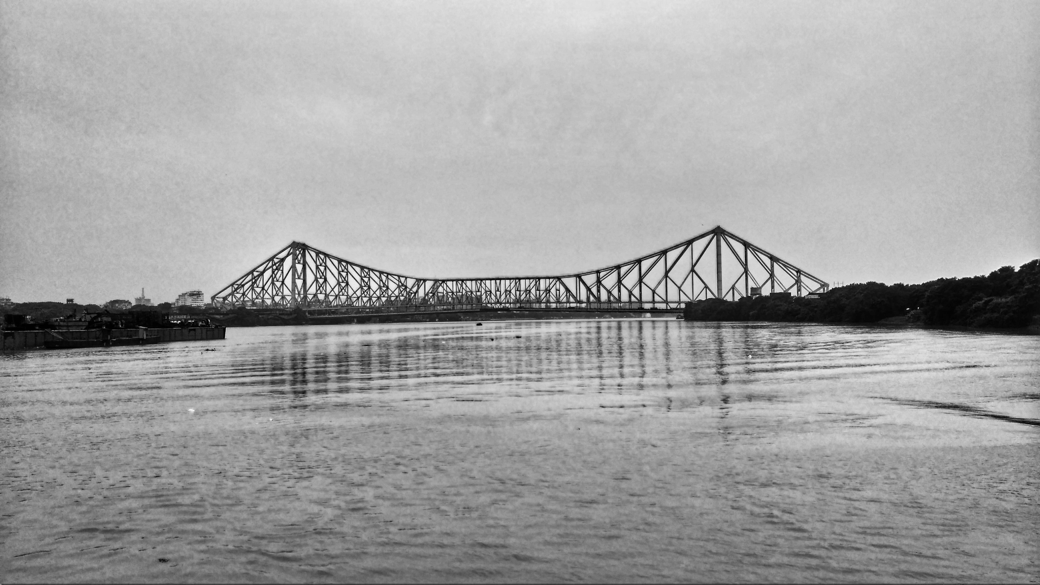 Howrah Bridge 4k Ultra Papel De Parede Hd Plano De Fundo