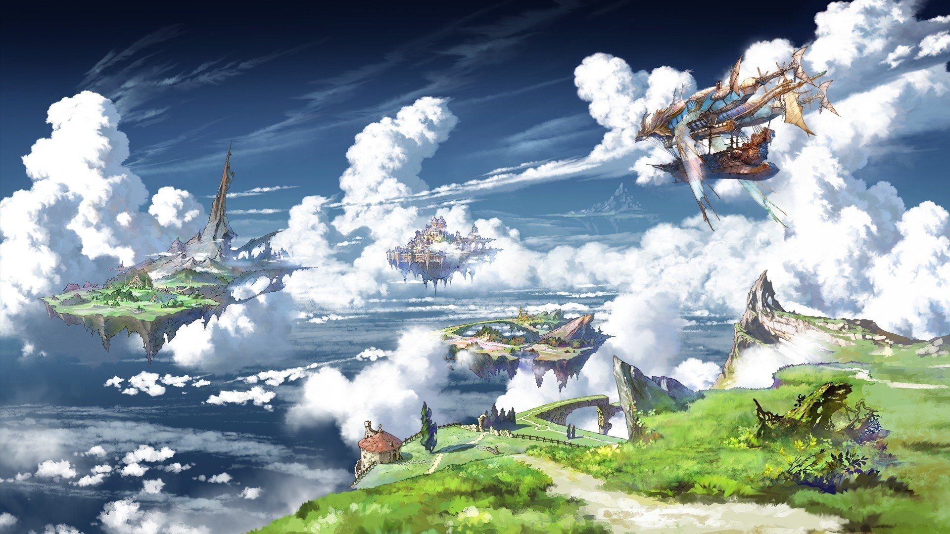 81 granblue fantasy hd wallpapers | background images - wallpaper abyss