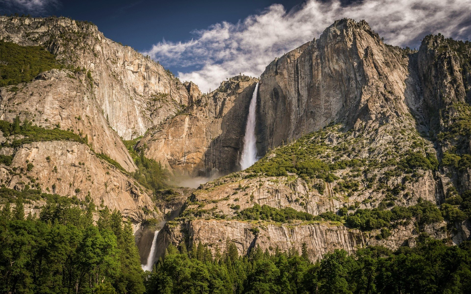 Yosemite Falls Fondo De Pantalla Hd Fondo De Escritorio