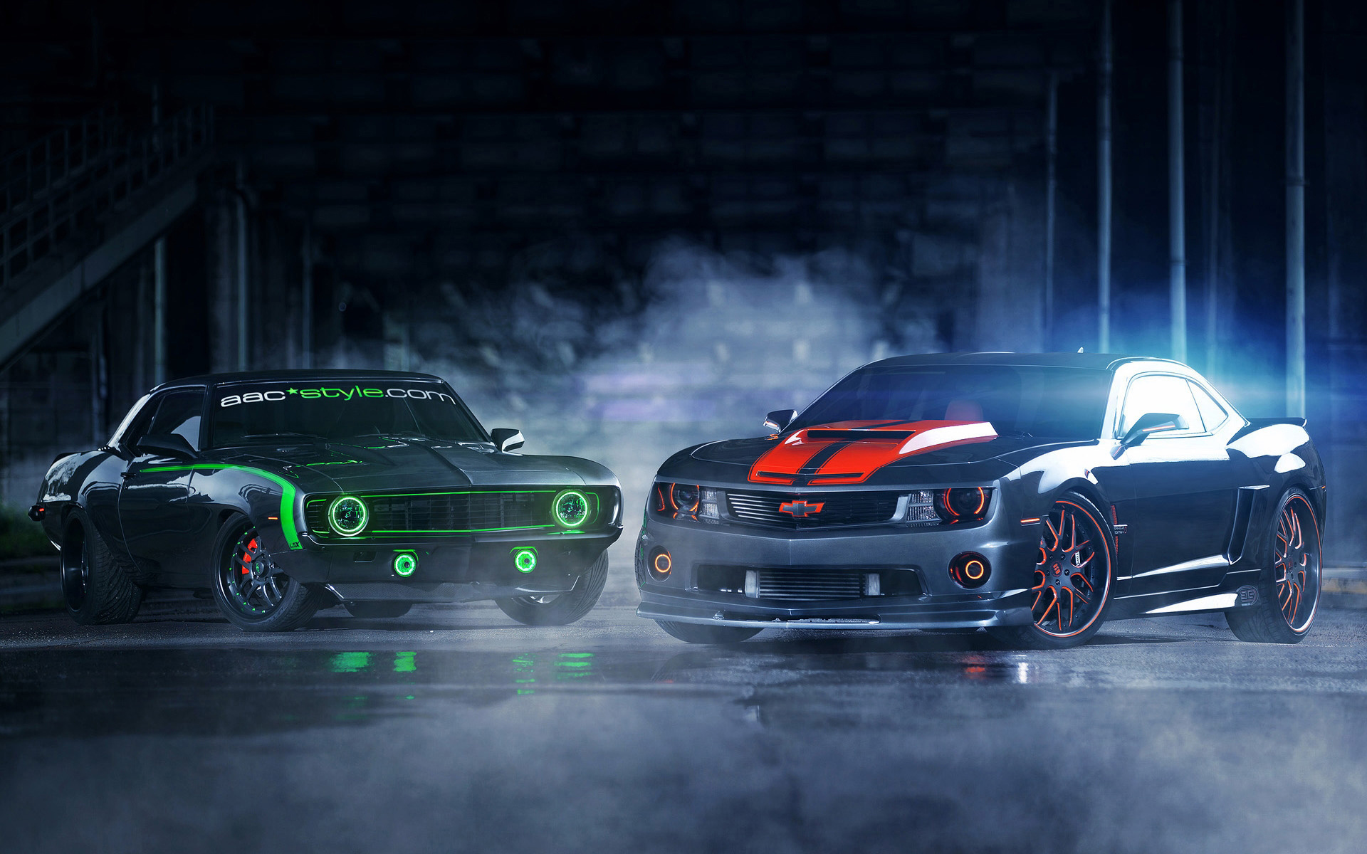 Chevrolet Camaro Something Old New Full HD Wallpaper And