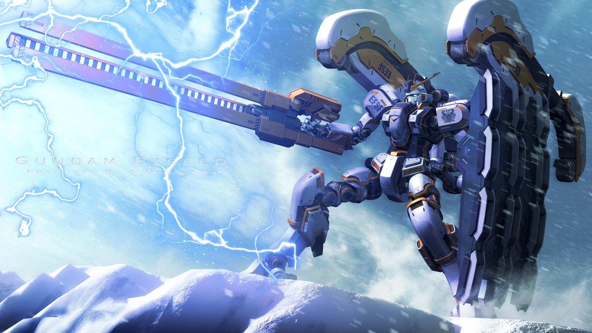 Mobile Suit Gundam Thunderbolt HD Wallpaper | Background