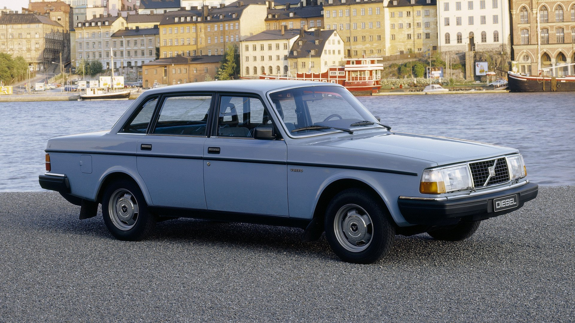 1980 Volvo 244 Diesel Fond Décran Hd Arrière Plan 1920x1080