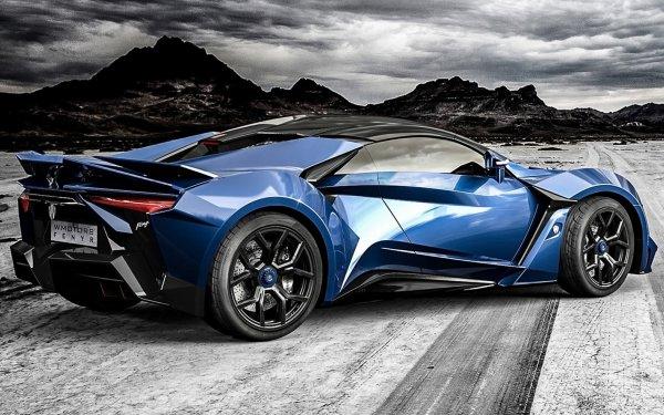 Vehicles Fenyr SuperSport Coupé Sport Car Blue Car HD Wallpaper | Background Image
