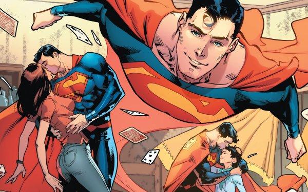 Comics Superman DC Comics Lois Lane Love Jon Kent Clark Kent HD Wallpaper | Background Image