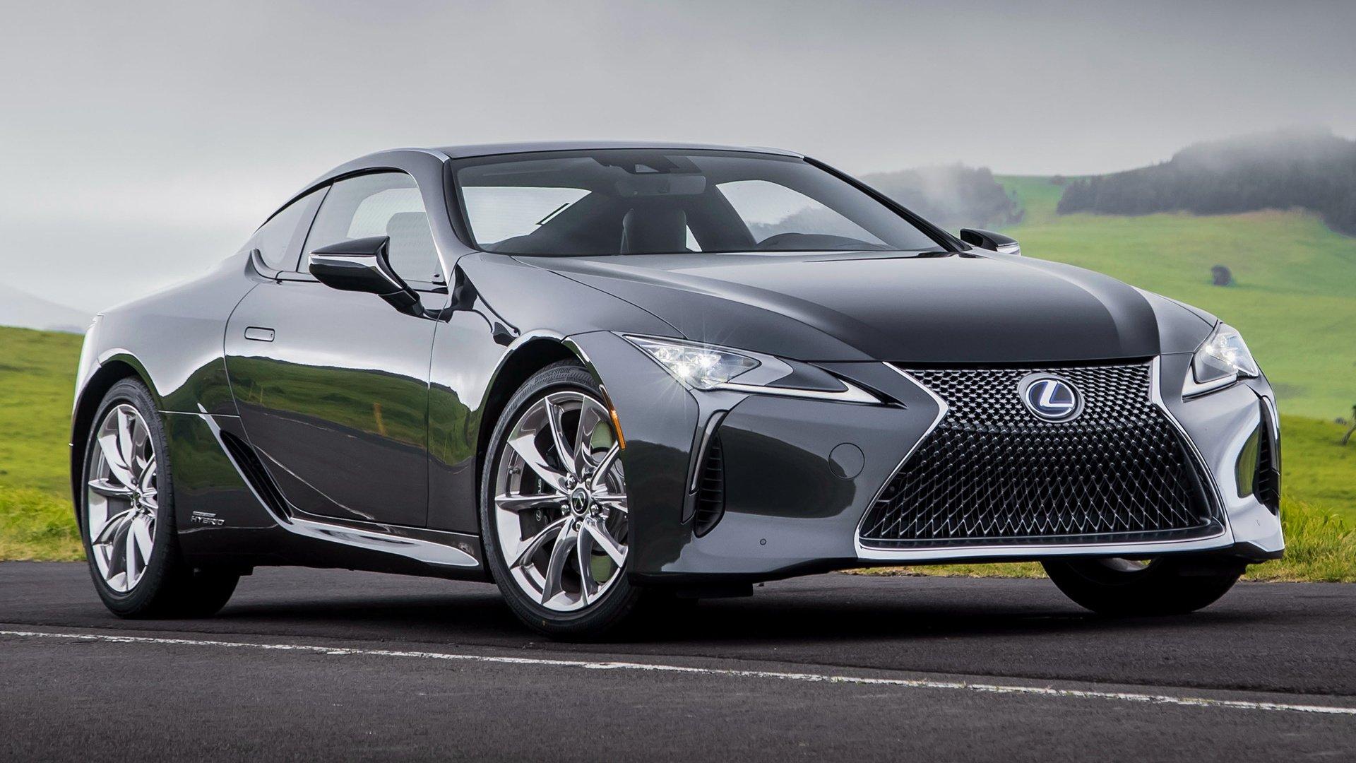 2018 Lexus Lc 500h Hybrid Car Fondo De Pantalla Hd Fondo
