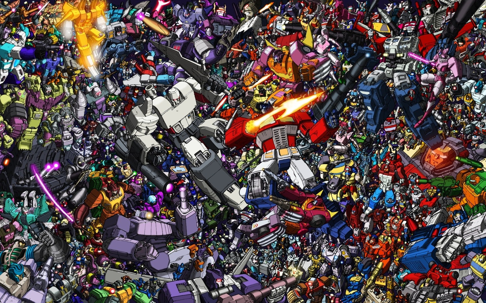 Autobots Transformers G1 Wallpaper