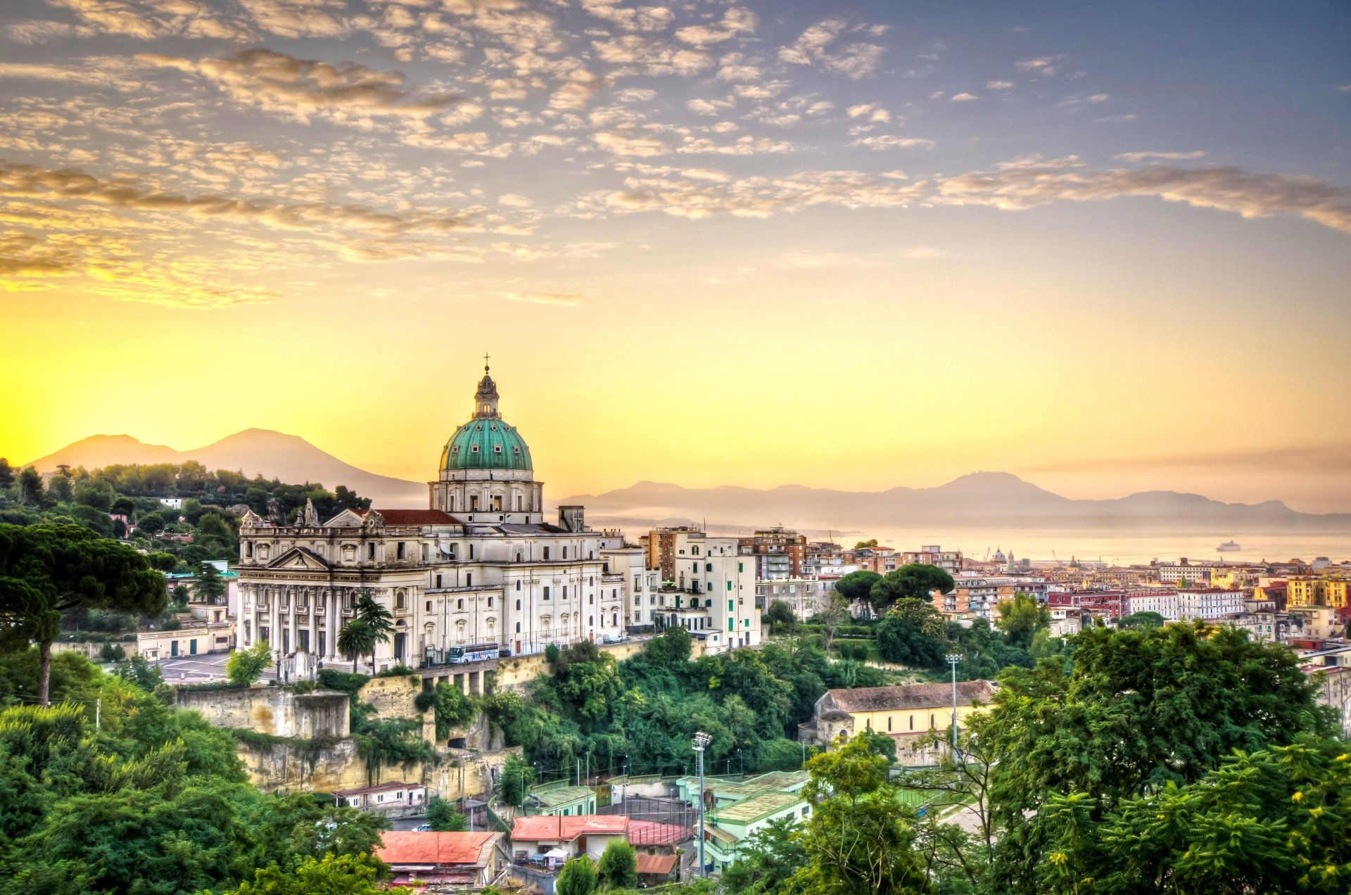 Naples italy 4k ultra hd wallpaper background image - Naples italy wallpaper ...
