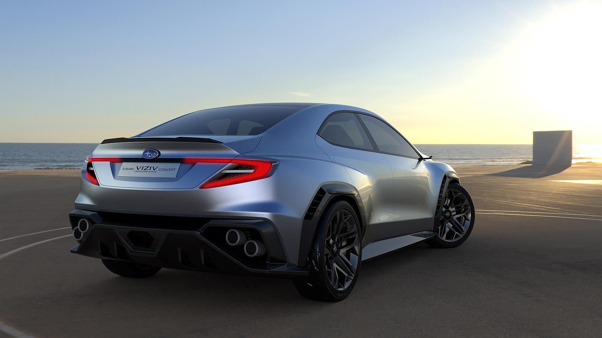 2017 Subaru Viziv Performance Concept Hd Wallpaper