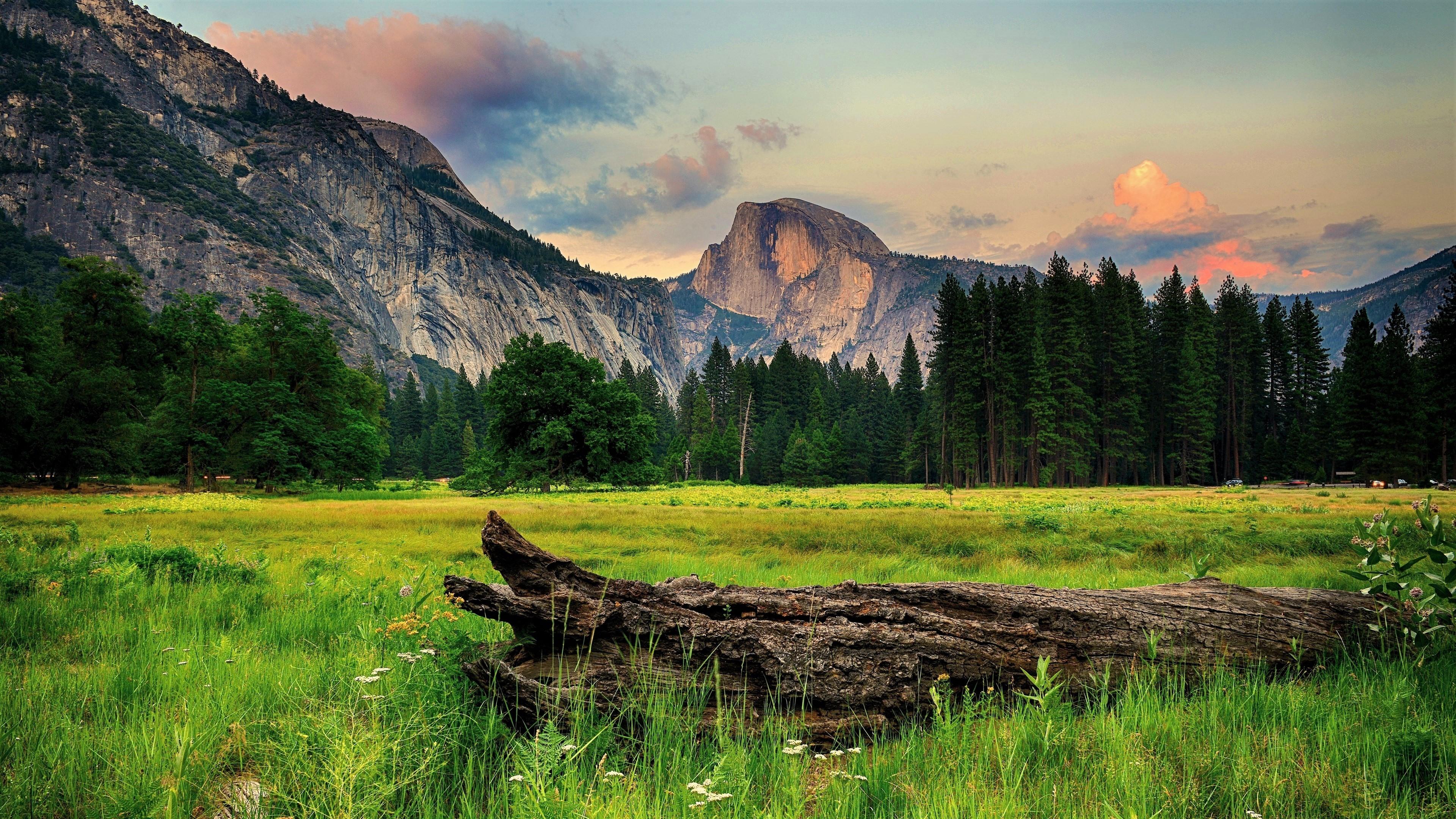 Mountain Landscape 4k Ultra HD Wallpaper