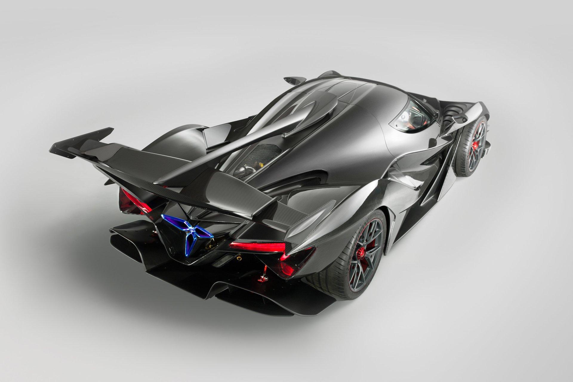 Vehicles - Apollo IE  Sport Car Hypercar Black Car Wallpaper