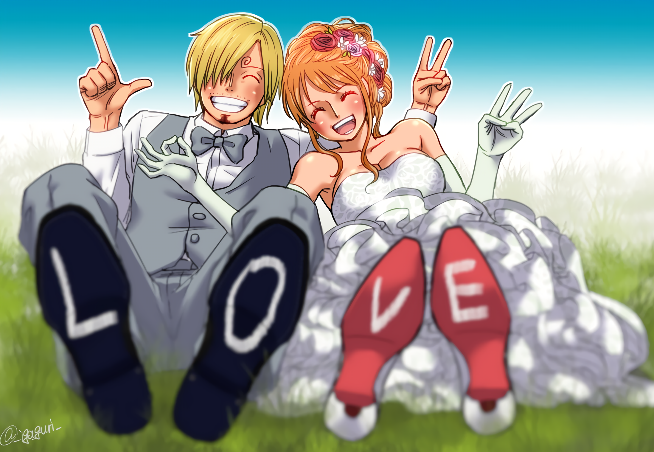 Sanji and nami