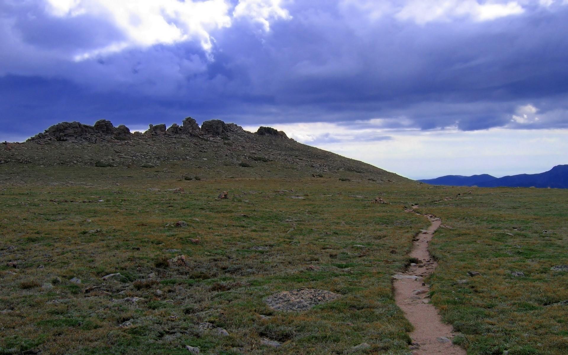 wallpaper mountain path - photo #34