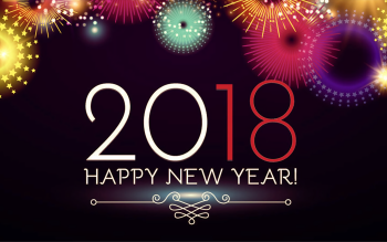new year 2018 hd wallpaper background image id882478