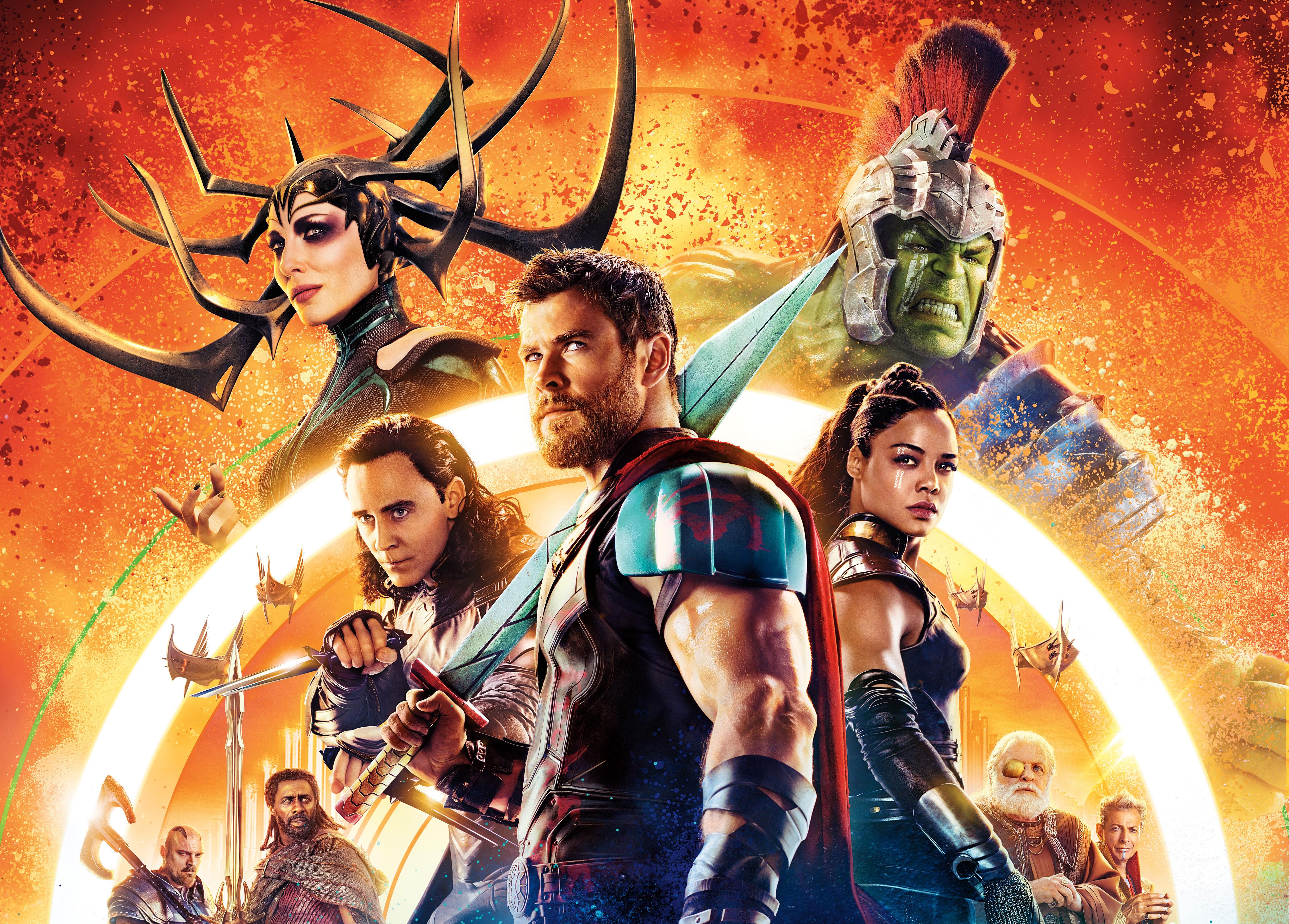 Thor Ragnarok 4k Ultra Hd Wallpaper Background Image 4950x3551