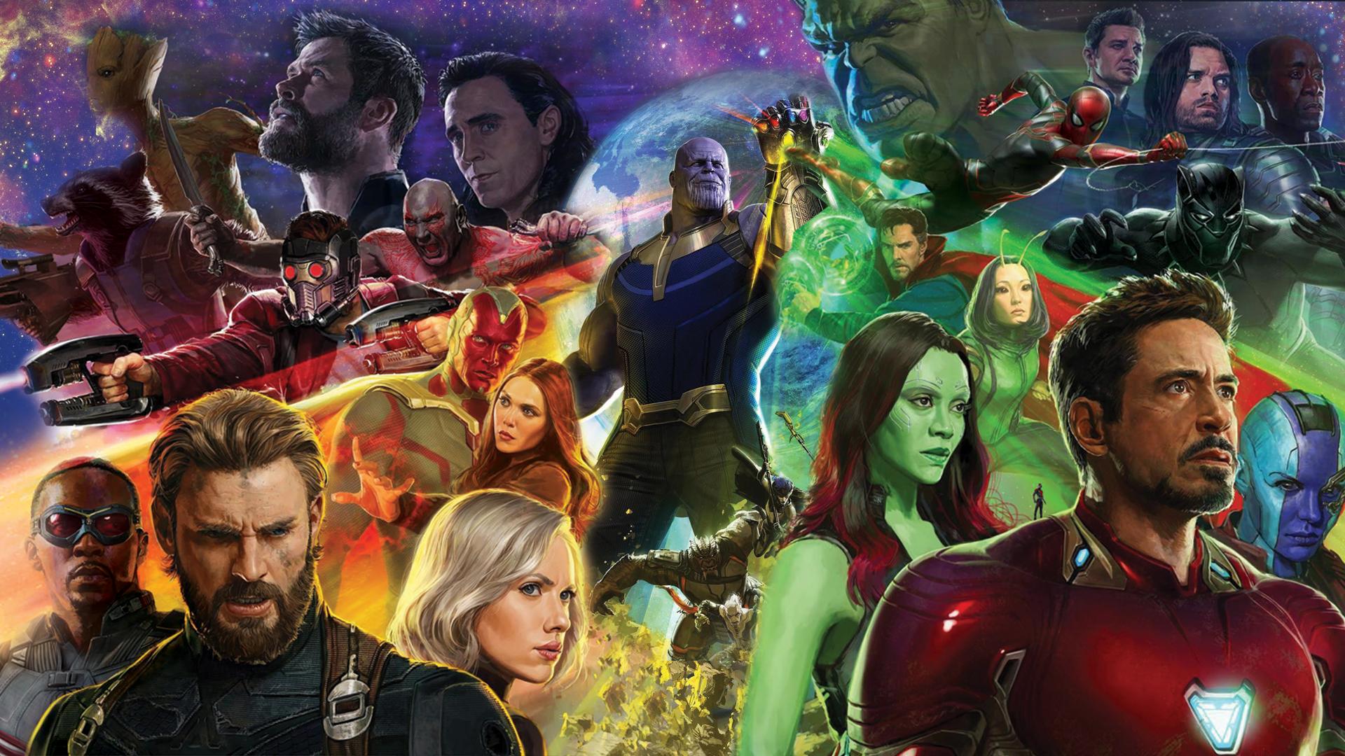 Avengers Infinity War Fond Décran Hd Arrière Plan 1920x1080