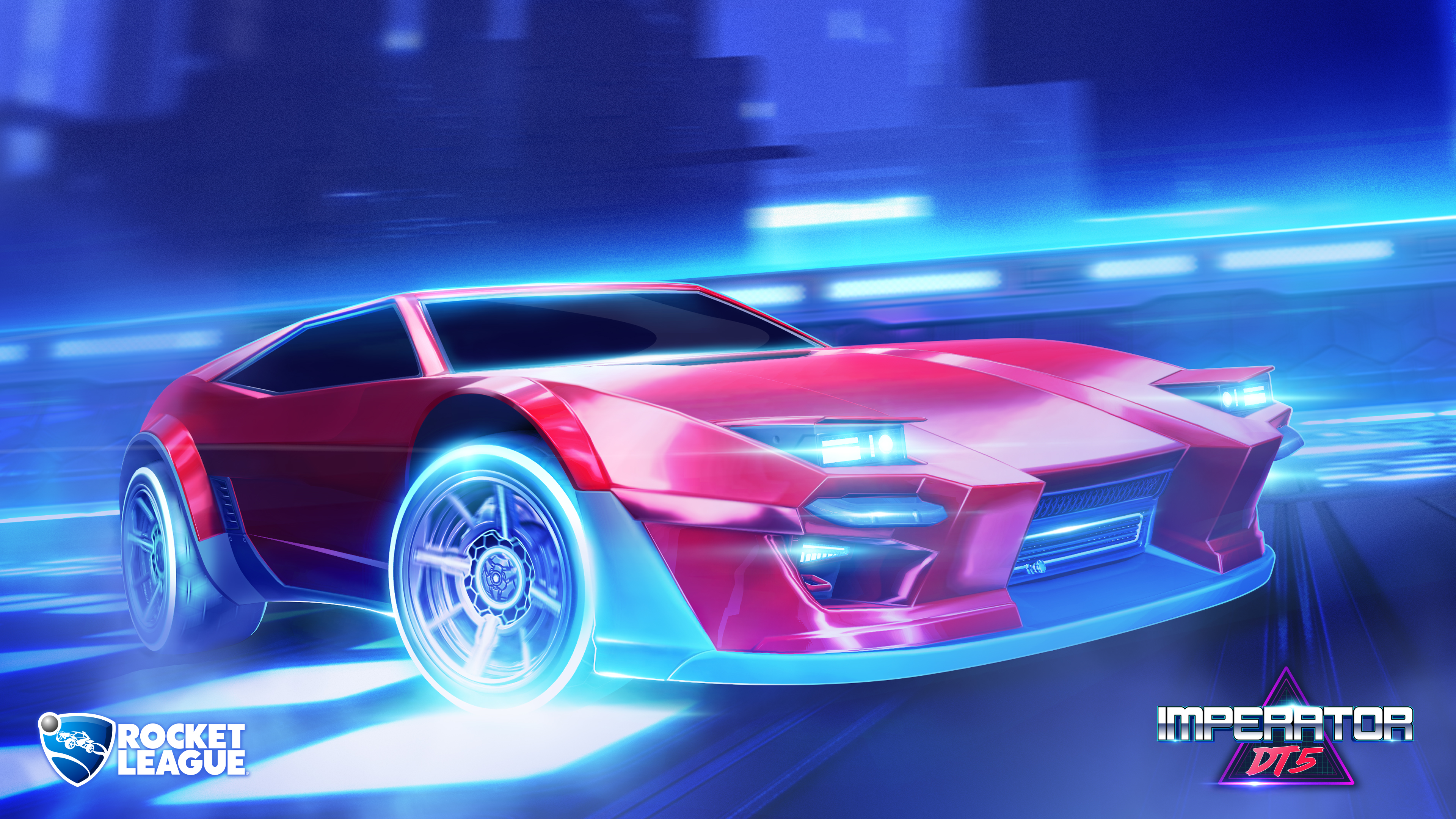 The Imperator Dt5 Rocket League 4k Ultra Fondo De Pantalla