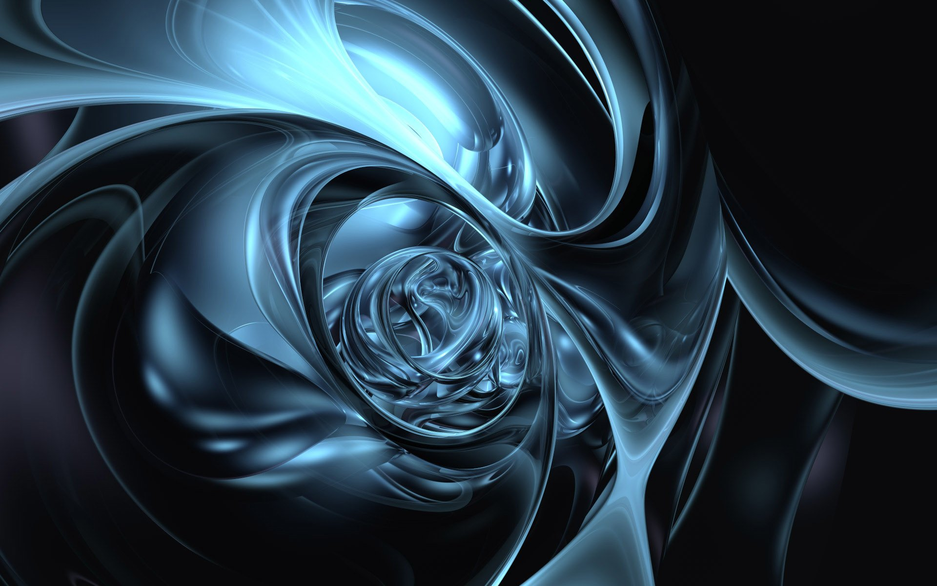 CGI - Abstract  3D Digital CGI Artistic Wallpaper