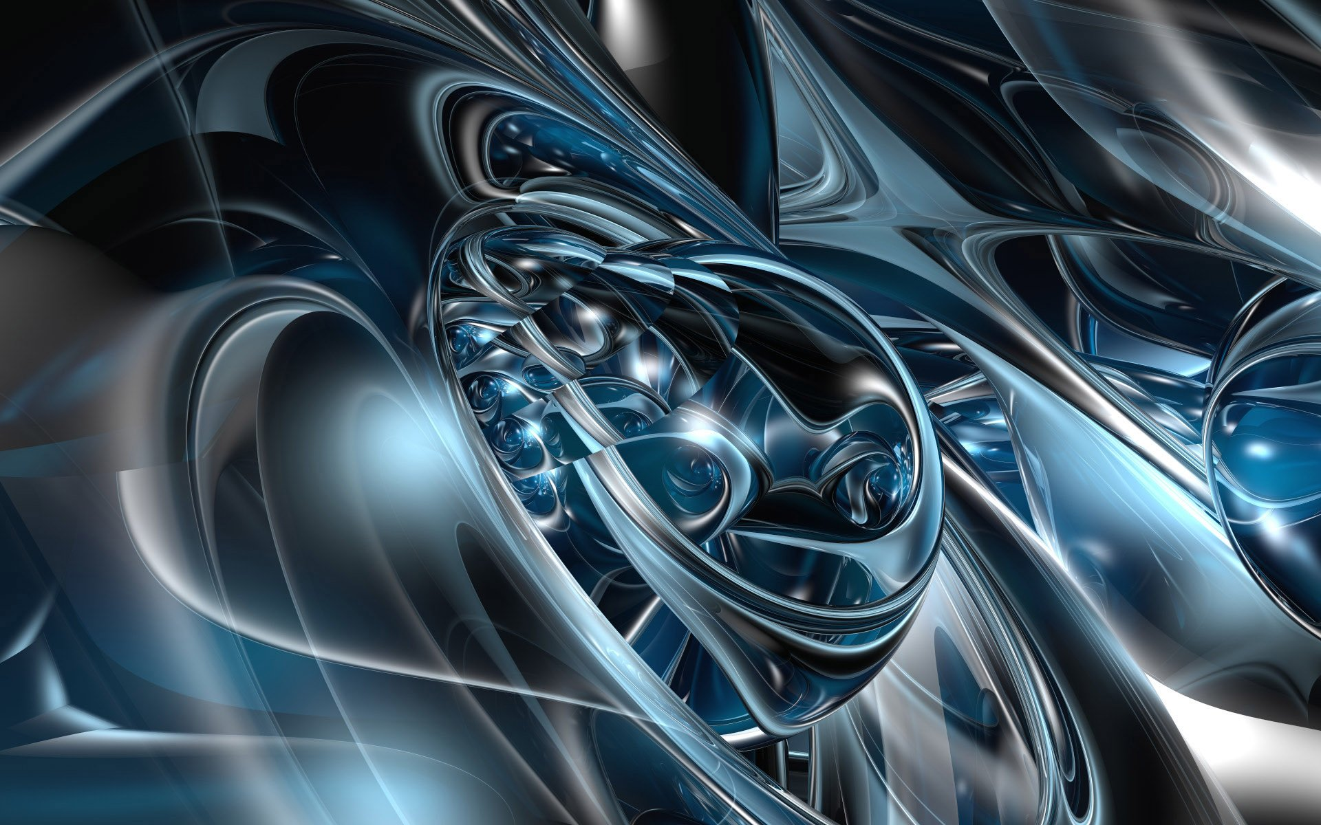 CGI - Abstract  3D Digital CGI Wallpaper