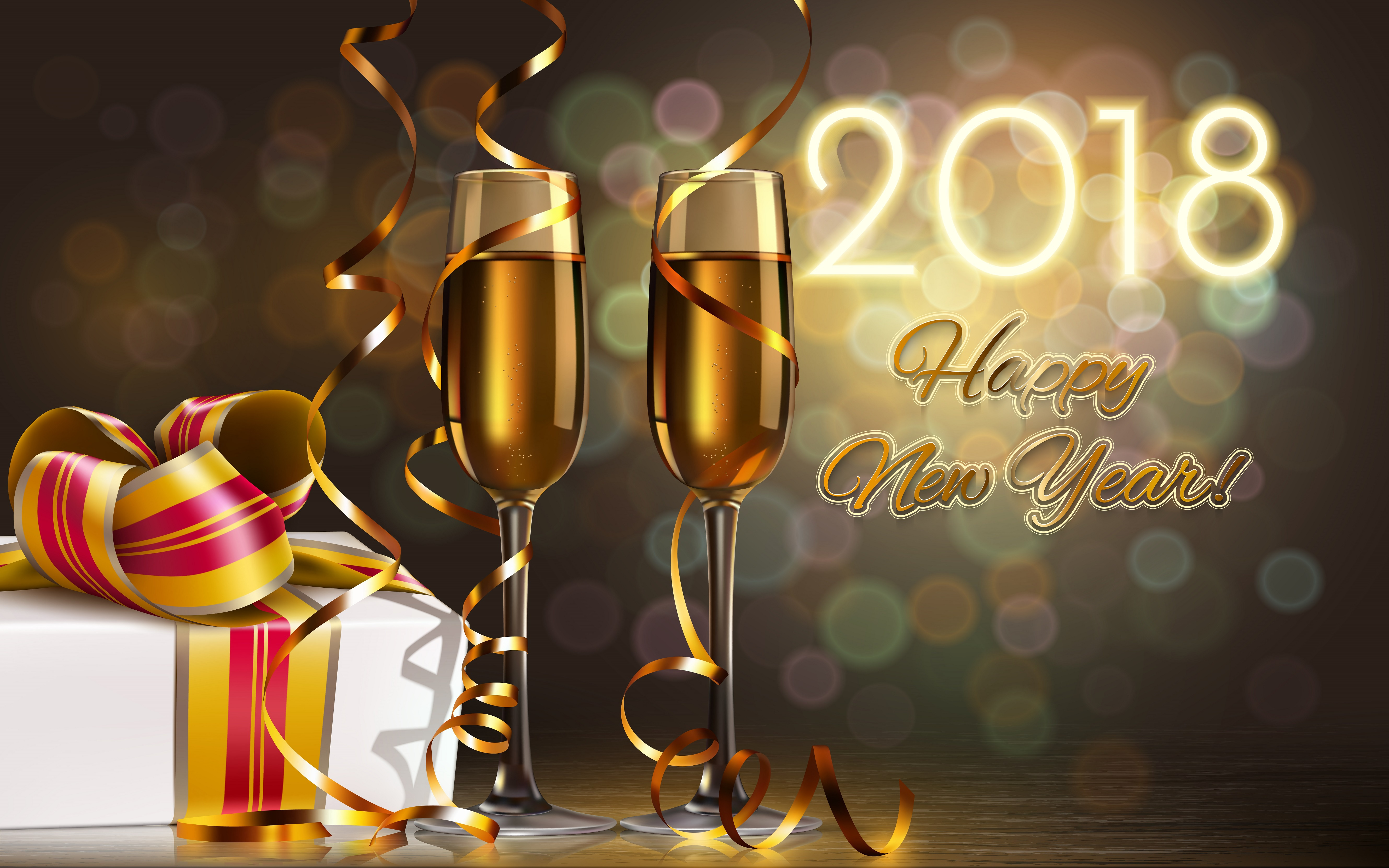 new year 2018 wallpapers id887960