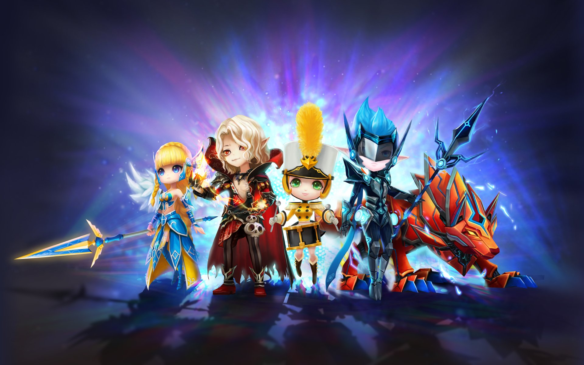 Video Game - Summoners War: Sky Arena  Summoners War Wallpaper