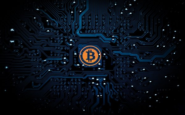 Technology Bitcoin Circuit Cryptocurrency HD Wallpaper | Background Image