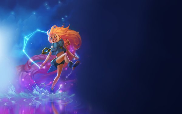 Video Game League Of Legends Zoe HD Wallpaper | Background Image
