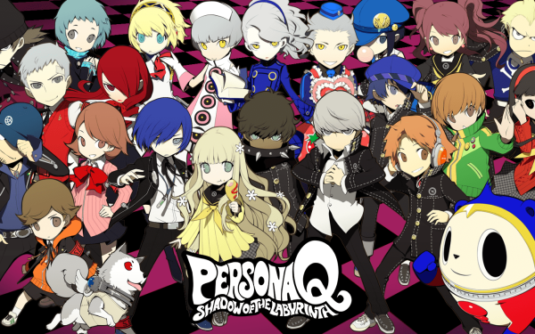 Video Game Persona Q: Shadow of the Labyrinth Persona Persona Q HD Wallpaper | Background Image
