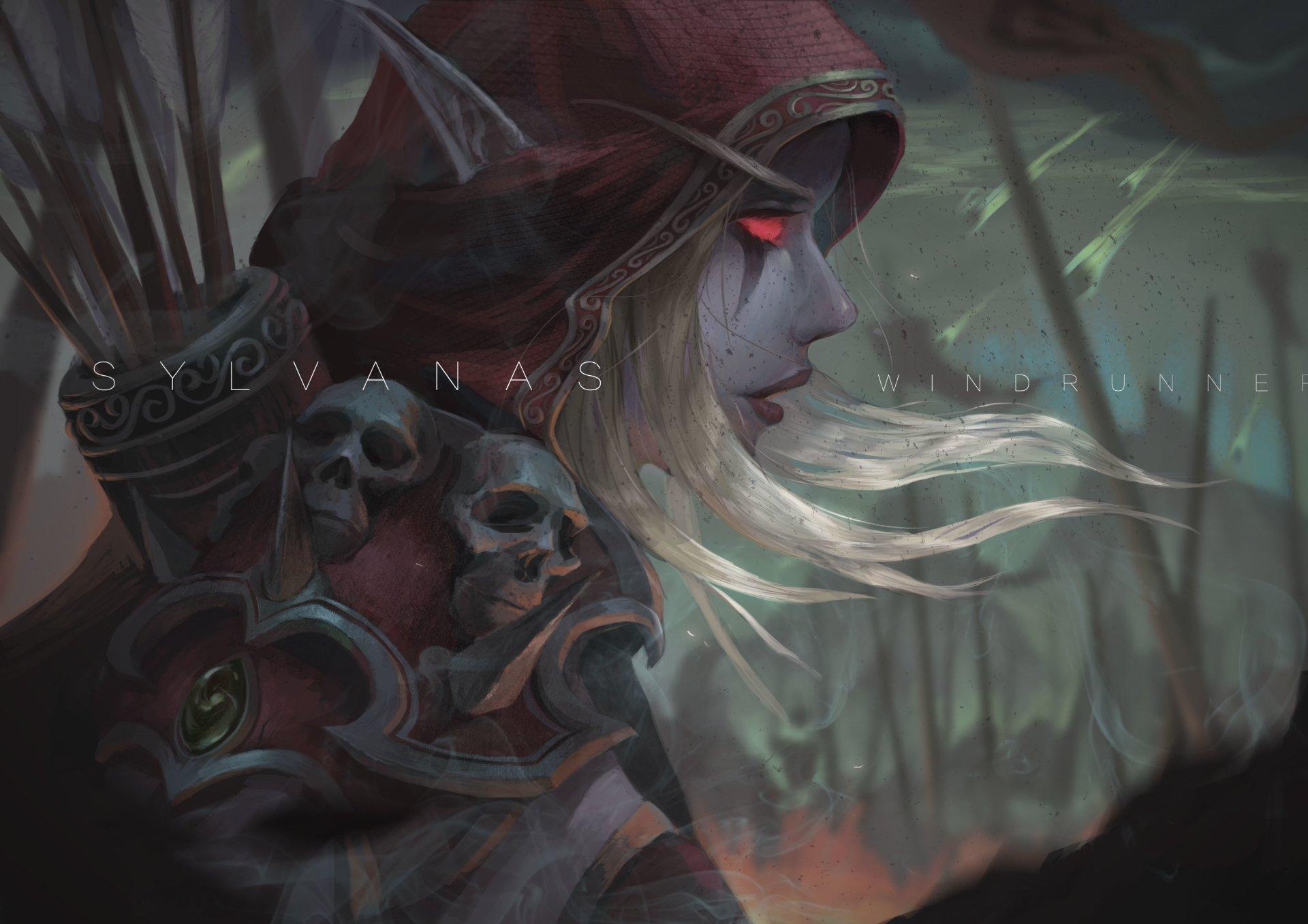 电子游戏 - 魔兽争霸  Sylvanas Windrunner 壁纸