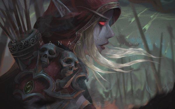 Video Game Warcraft Sylvanas Windrunner HD Wallpaper | Background Image