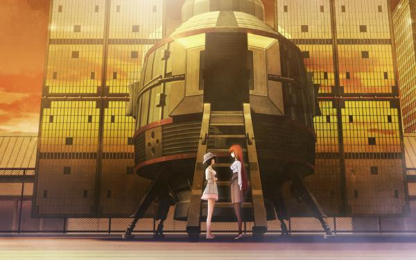 Anime Steins;Gate Kagari Shiina Mayuri Shiina HD Wallpaper | Background Image