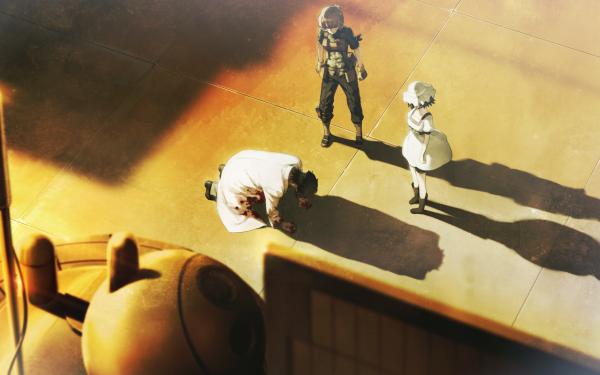 Anime Steins;Gate Suzuha Amane Rintaro Okabe Mayuri Shiina HD Wallpaper | Background Image