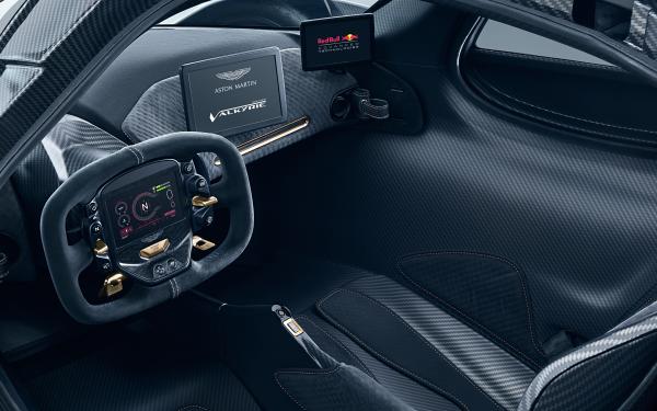 Vehicles Aston Martin Valkyrie Aston Martin Supercar Sport Car Hybrid Car Interior HD Wallpaper   Background Image