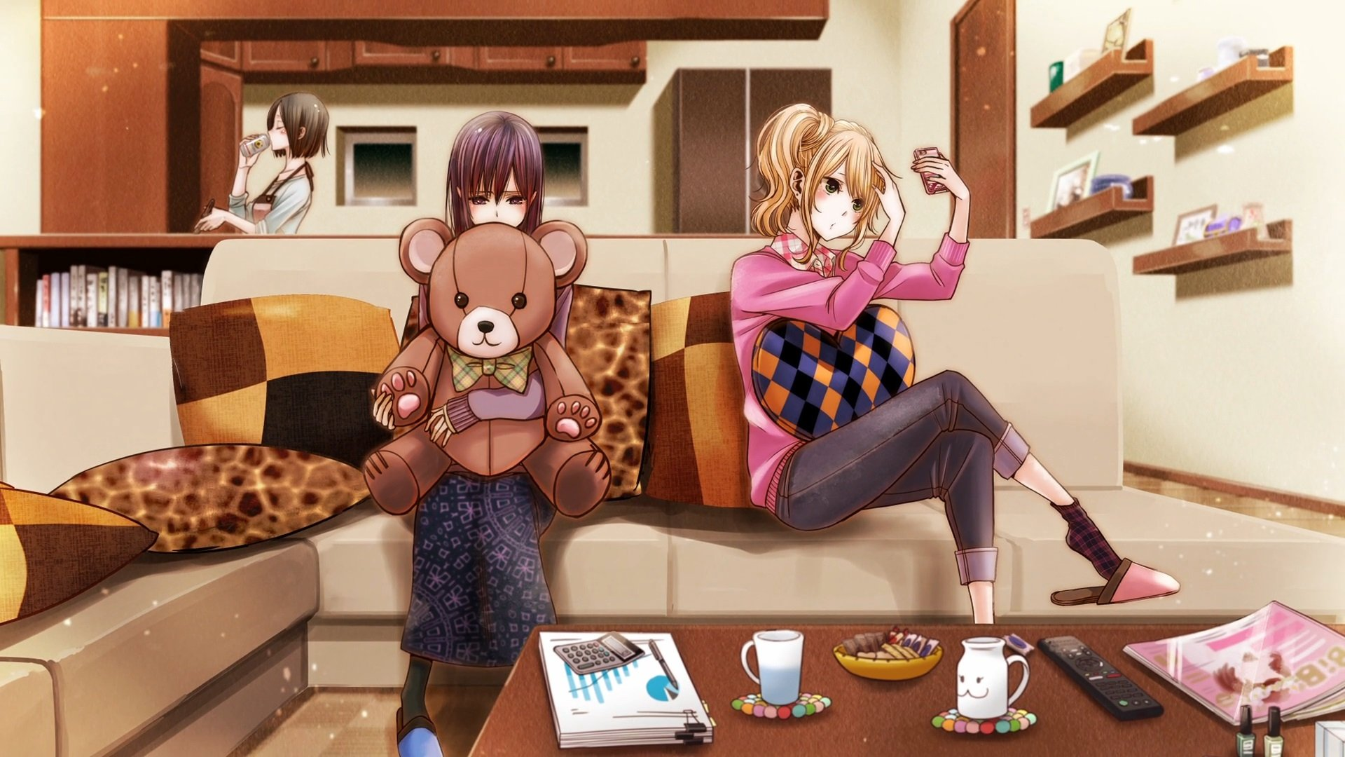 Download 5300 Wallpaper Anime Citrus Hd Gambar Terbaik