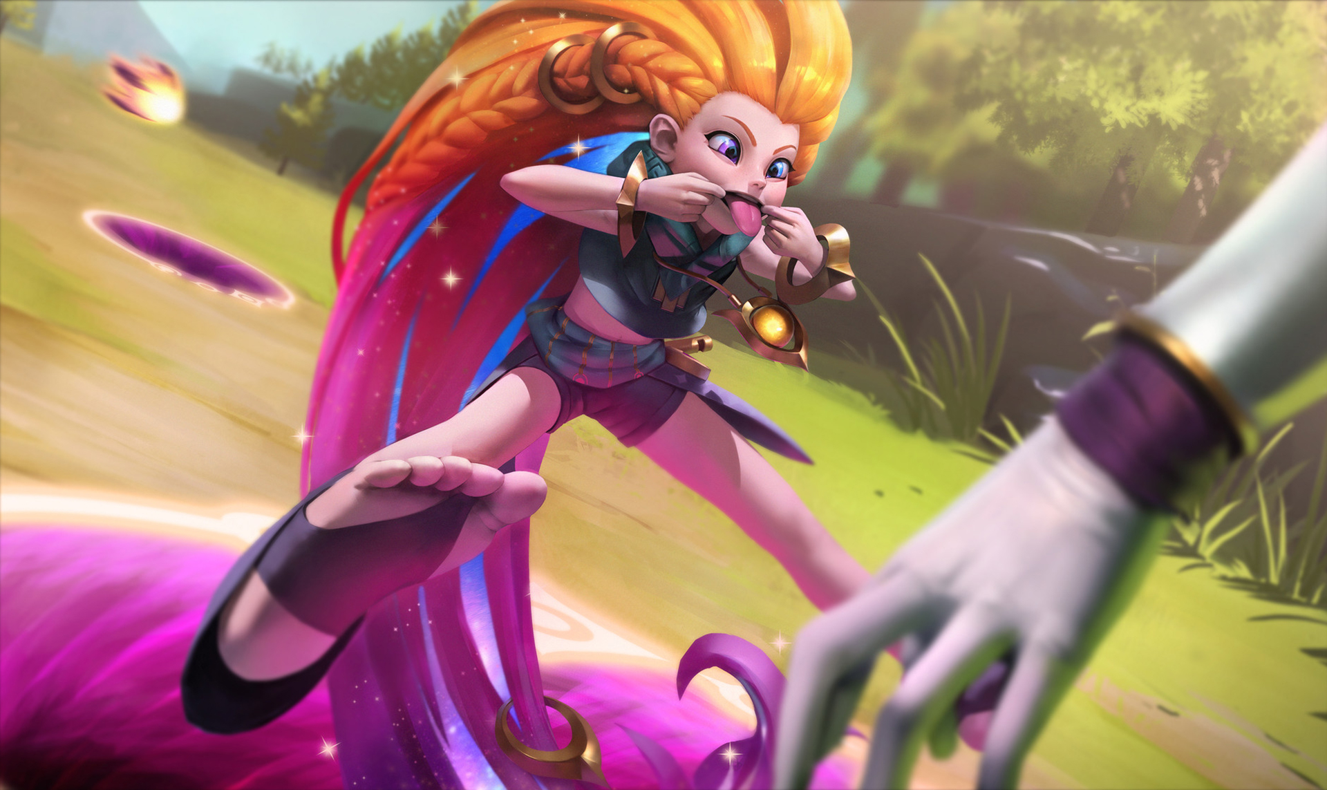 League of legends hd wallpaper background image - Zoe wallpaper ...