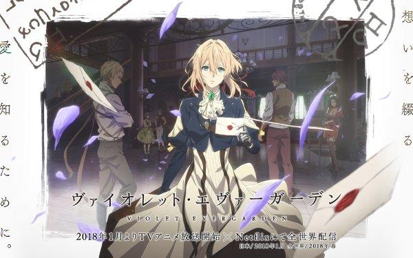 Anime Violet Evergarden HD Wallpaper   Background Image