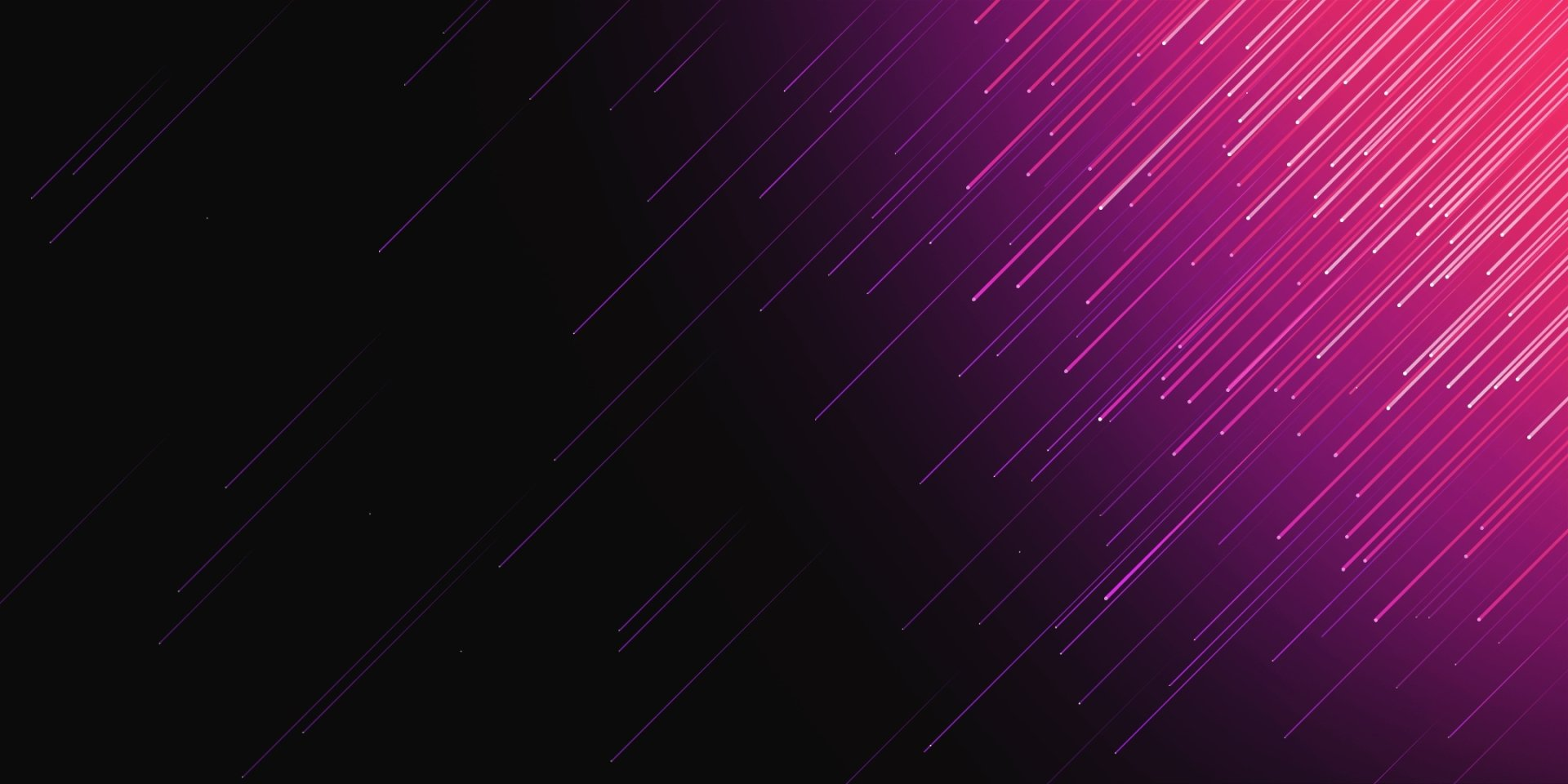 Abstract - Purple  Lines Artistic Wallpaper