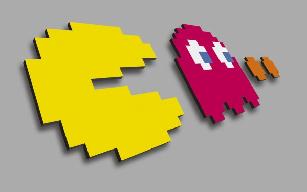 pacman wallpaper. Video Game - Pacman Wallpaper