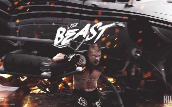 Sports Brock Lesnar Wrestler Boxer WWE MMA Muscle Tattoo HD Wallpaper | Background Image