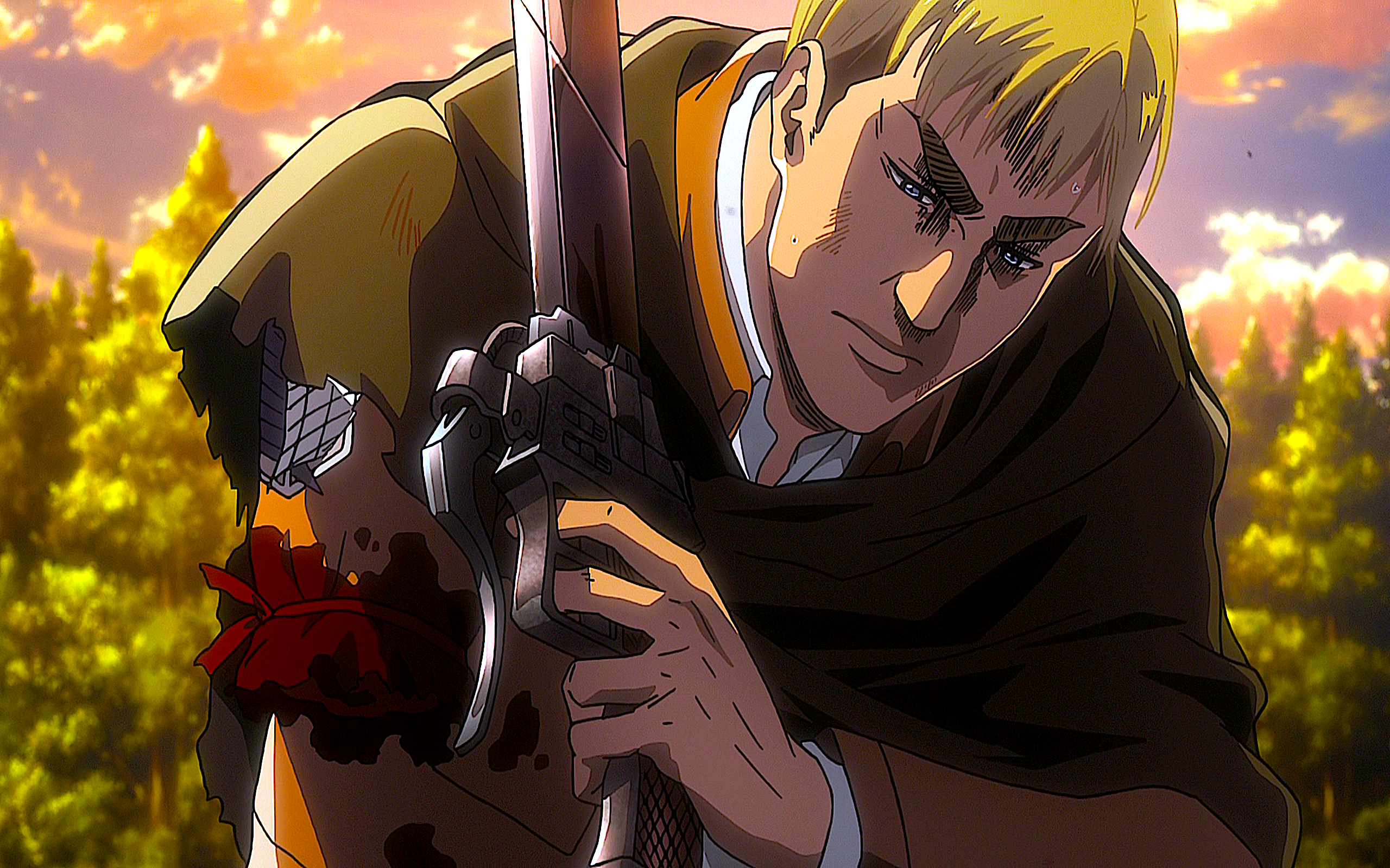 58 Erwin Smith Hd Wallpapers Background Images Wallpaper Abyss