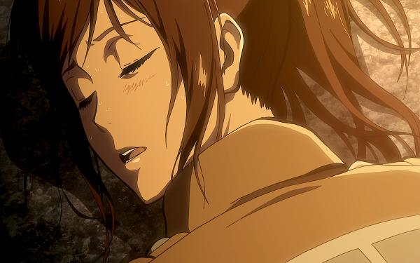 Anime Attack On Titan Sasha Blouse Shingeki No Kyojin Cute Resting HD Wallpaper | Background Image