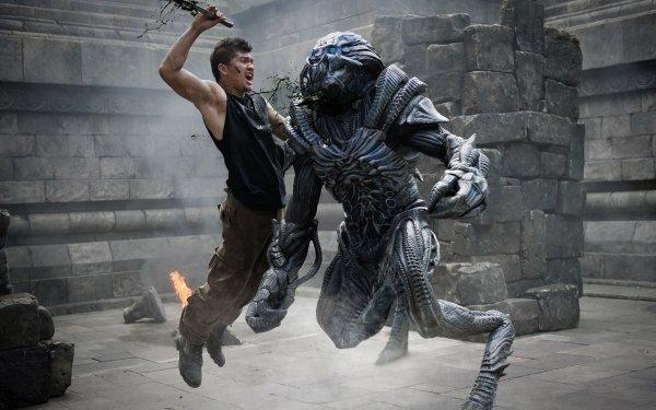 Movie Beyond Skyline Alien Creature Iko Uwais HD Wallpaper | Background Image