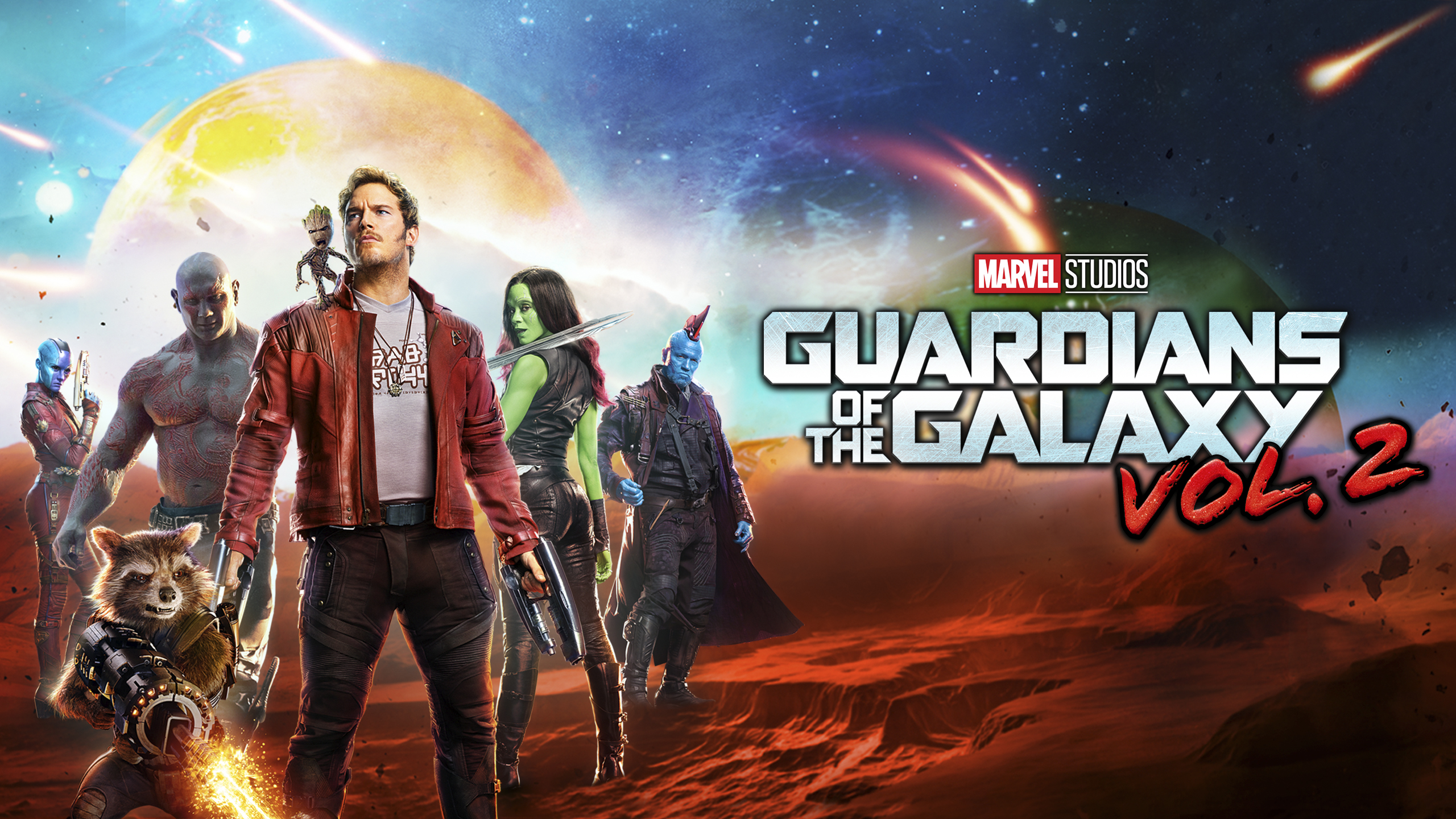 Marvel Studios Guardians Of The Galaxy Vol 2 Hd Wallpaper
