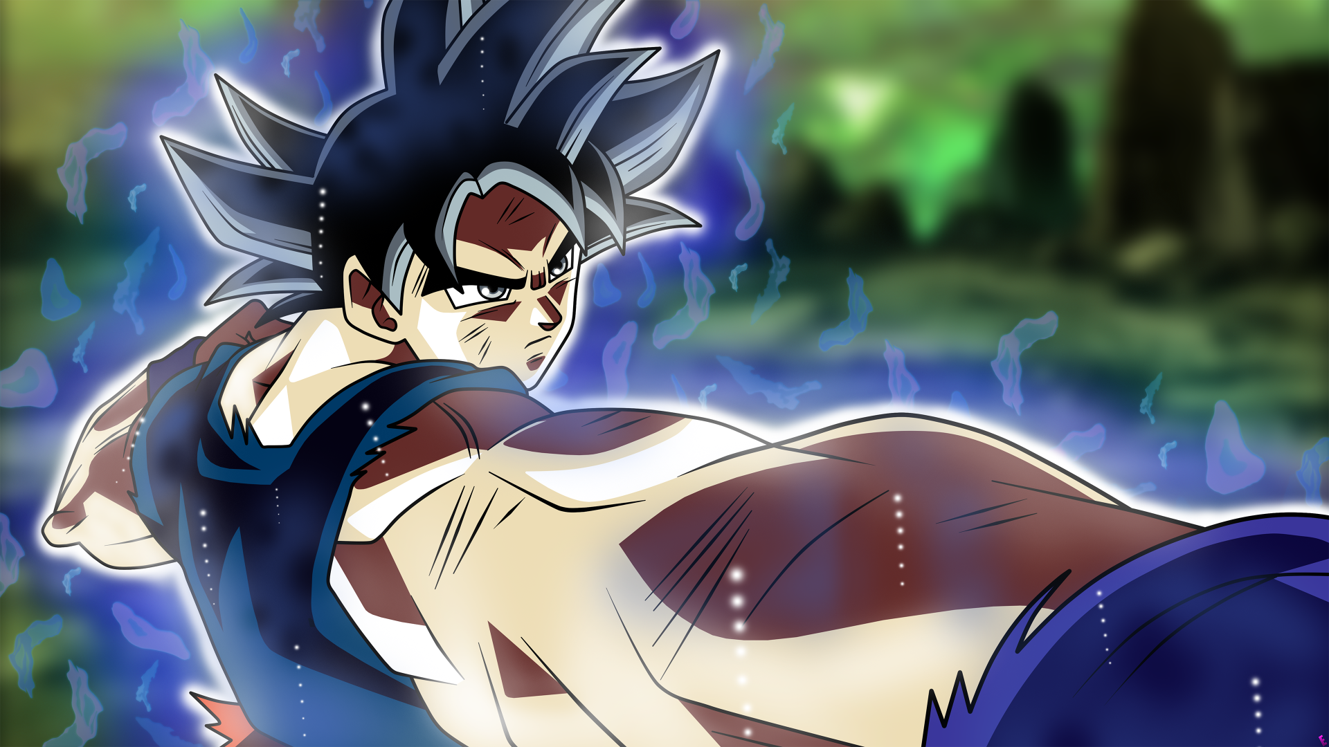 Los Mejores Fondos De Pantalla De Goku Migatte No Gokui Hd: Goku Migatte No Gokui 4k Ultra Fondo De Pantalla HD